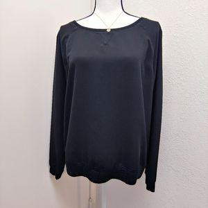 🌟Lou & Grey Black long sleeve top Size M